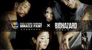 MIRACLE PAINT X BIOHAZARD poster