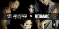 MIRACLE PAINT X BIOHAZARD