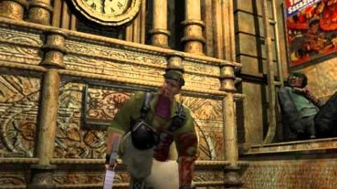 Resident Evil 3 Nemesis cutscenes - Don't Come Any Closer! (alternate)