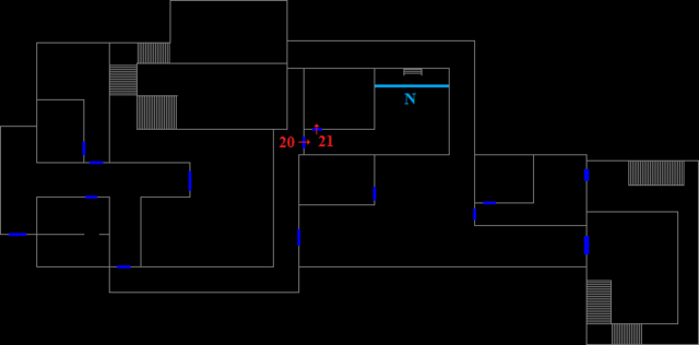 File:Dormitory 1F - encounter map.png