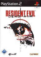 Resident Evil Dead Aim - European front cover