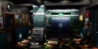 Raccoon General Hospital/Hospital lobby