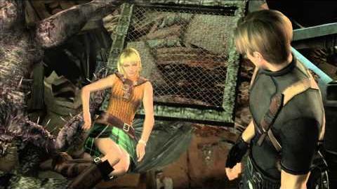 Resident Evil 4 all cutscenes - Chapter 5-2 scene 2