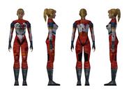 Resident Evil 2 - Elza Walker standard model (damage 1)
