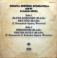 Afrodizia 2020 Oriental Brothers