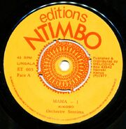 Editions Ntimbo ET 003 L1 1000