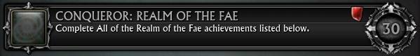 Conqueror Realm of the Fae