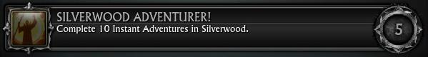 Silverwood Adventurer! 10