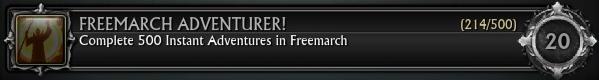 Freemarch Adventurer! 500