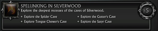Spelunking in Silverwood Dark