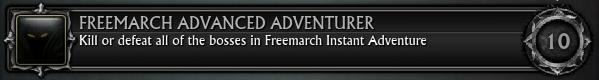 Freemarch Advanced Adventurer
