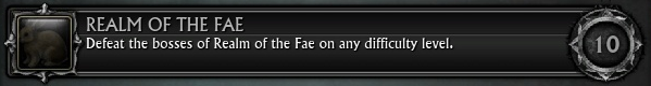 Realm of the Fae (Achievement)