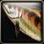 Brown Perch Icon