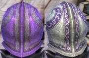 Plate Purple Light Dye