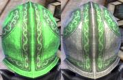 Plate Green Light Dye