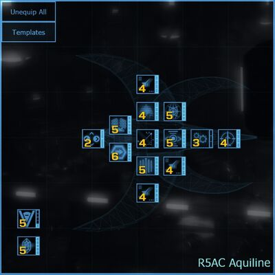 R5AC Aquiline blueprint updated