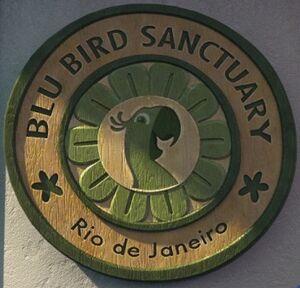 Blu Bird Sanctuary logo