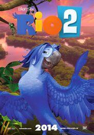 Rio 2 Poster ft Roberto