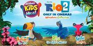Rio 2 kids meal