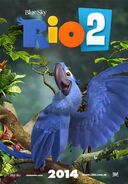 Rio 2 Poster ft. Blu