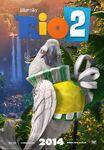 Rio 2 Poster ft Nigel