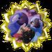 Gold Badge Blu and Jewel