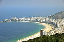 Rio de janeiro copacabana beach 2010
