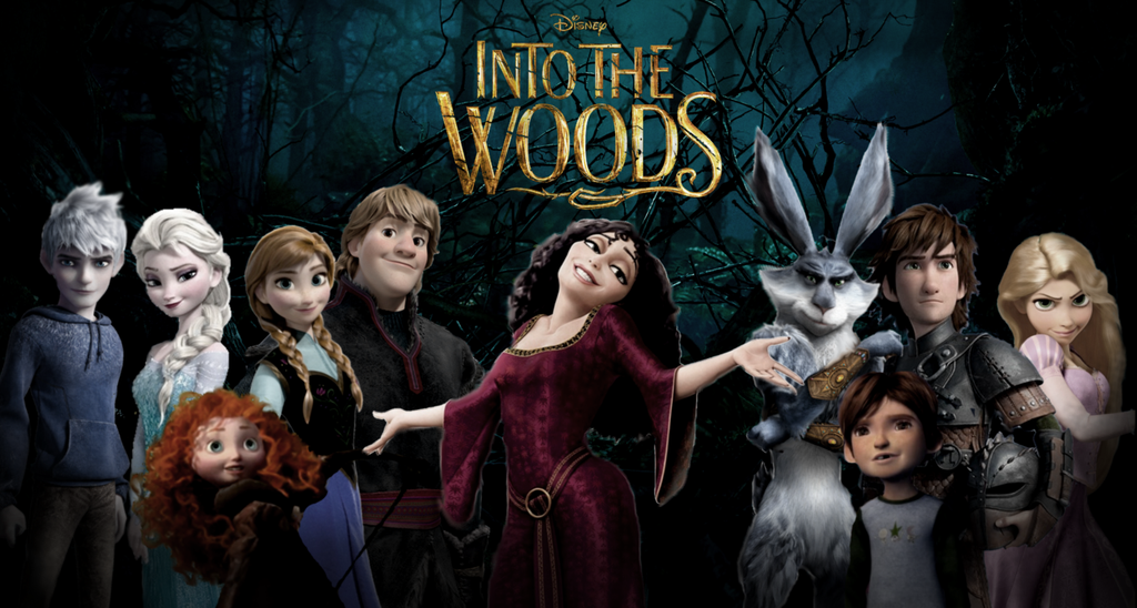 into the woods game disney