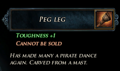 Peg Leg Description