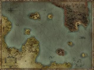 R2 Sea Chart Map