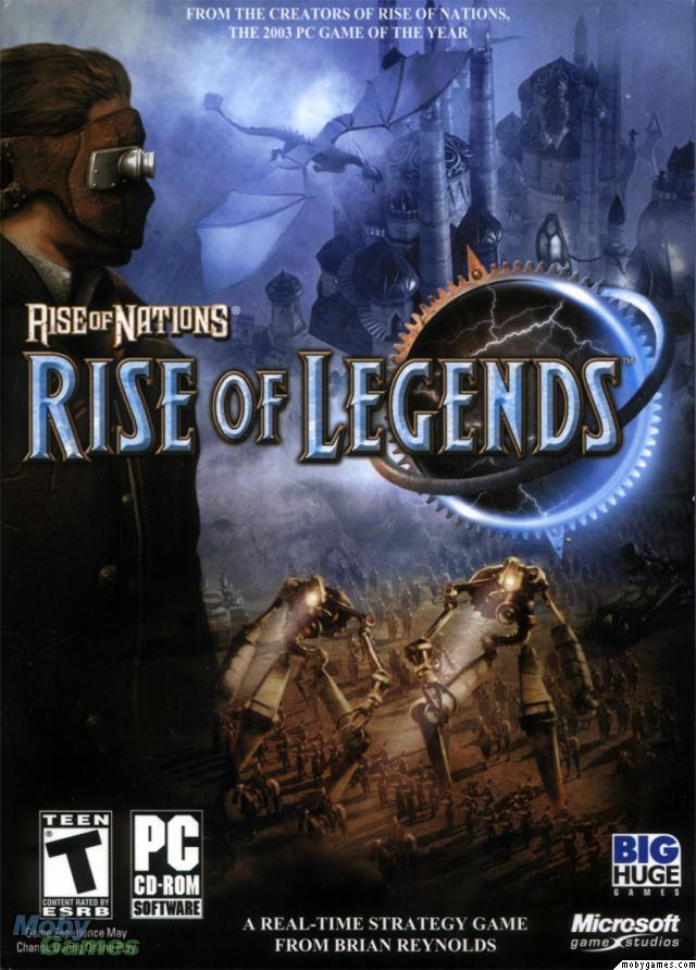 free full version game rise of nations rise of legends