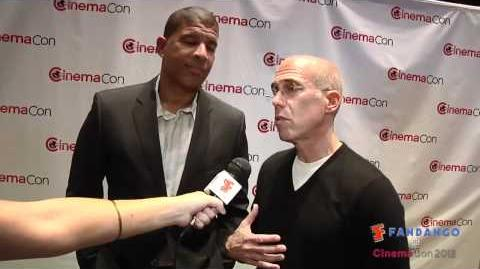 Rise of the Guardians - Peter Ramsey and Jeffrey Katzenberg exclusive interview from CinemaCon 2012