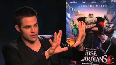 Chris Pine Interview Rise of the Guardians