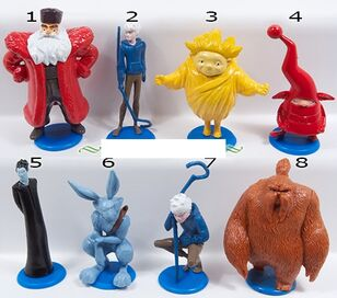 Rise of the guardians figurines