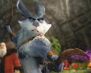 Bunnymund in Defense mode