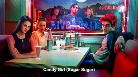 Riverdale Cast - Candy Girl (Sugar Sugar) Riverdale 1x02 Music HD-0