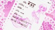 Minato Tomoka's info sheet (Season 2)