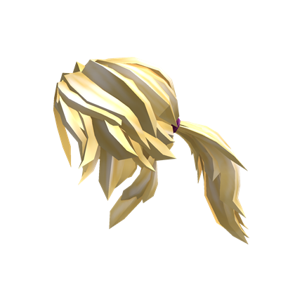 Catalog:Blonde Action Ponytail | Roblox Wikia | FANDOM ...