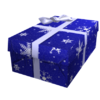 Opened Wintery Gift of Thanks