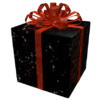 Opened Black Iron Gift of Pwnage