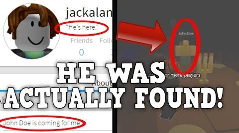 *INSANE* THIS GUY RECORDED JOHN DOE... THEN HE GOT HACKED! (Roblox Mysteries)
