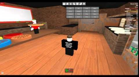 ROBLOX - Trolling as a Guest - Work at a Pizza Place