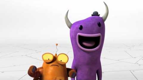 Nickelodeon's Robot And Monster Promo