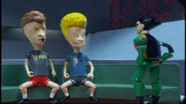 Robot Chicken - Beavis and Butthead Joins Teen Titans