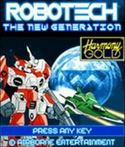 Robotech The New Generation Phone Game
