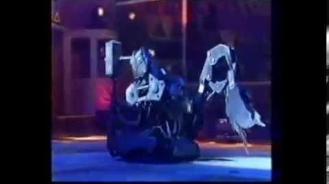 Robot wars Missing ultimate warrior Chaos 2 battles