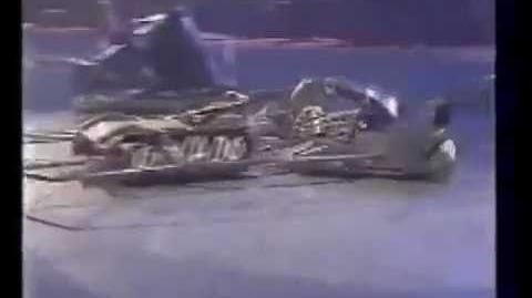 Robot Wars Robot history Tornado part 2 (S6-7)