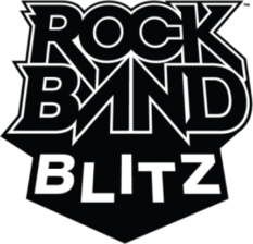 Rock band blitz logo