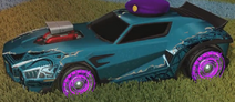 Unmasked decal grey rare