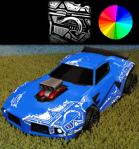 Unmasked decal paint rare